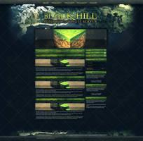 Black-Hill Minecraft WebDesign by InsDev