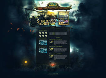 Shades of Despair ~ WoW Guild Template by InsDev