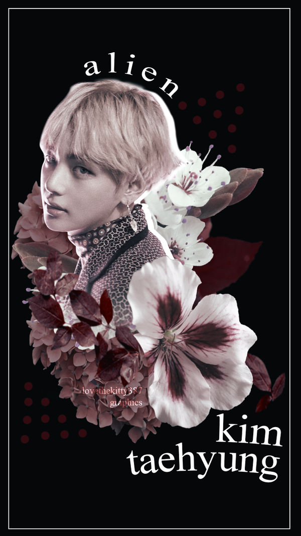 Wallpaper Iphone 7 Bts Kim Taehyung By Lovethekitty387 On Deviantart