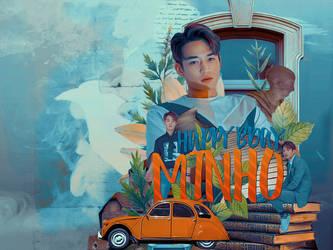 [SHINee] Happy Birthday Minho- Blend by lovethekitty387