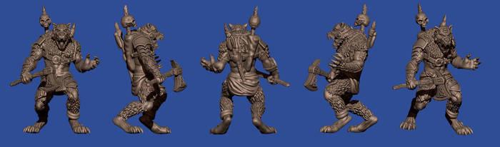 Werewolf Warrior by disel91