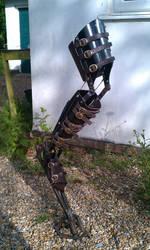 Mechanical articulated digileg by DragonArmoury