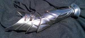 New armour Legs by DragonArmoury