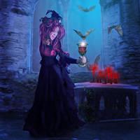Vampire Queen by mrscats