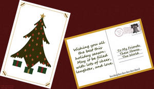 Quilted Tree Card by vhartley