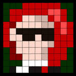 Pixelled Portrait by vhartley
