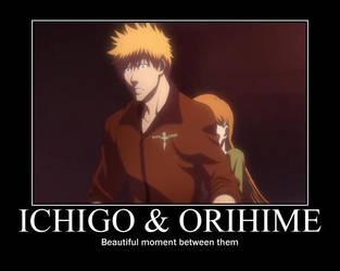 Ichigo X Orihime by Harukaze-san