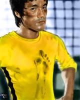 Bruce Lee by mahirtekdal