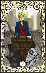 Les Mis Tarot: 7 Chariot by RiderRRiddle