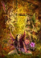 Fairies Garden by DarkAkelarre