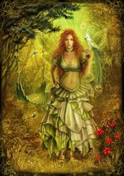 ..Autumn Fairy.. by DarkAkelarre