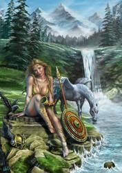 Valkyrja, Chooser Of The Slain by DarkAkelarre