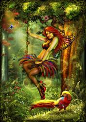 The Golden Pheasant by DarkAkelarre