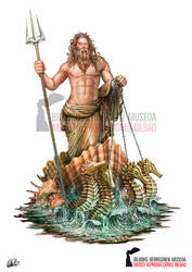 Poseidon God of the Sea - Ancient Greek Mythology by DarkAkelarre