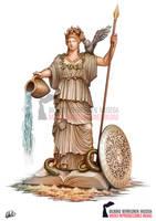 Athenea - Ancient Greek Mythology by DarkAkelarre