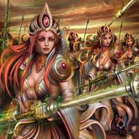 Priestesses of the Third Circle by DarkAkelarre