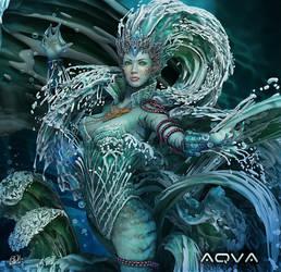 Aqua I by DarkAkelarre
