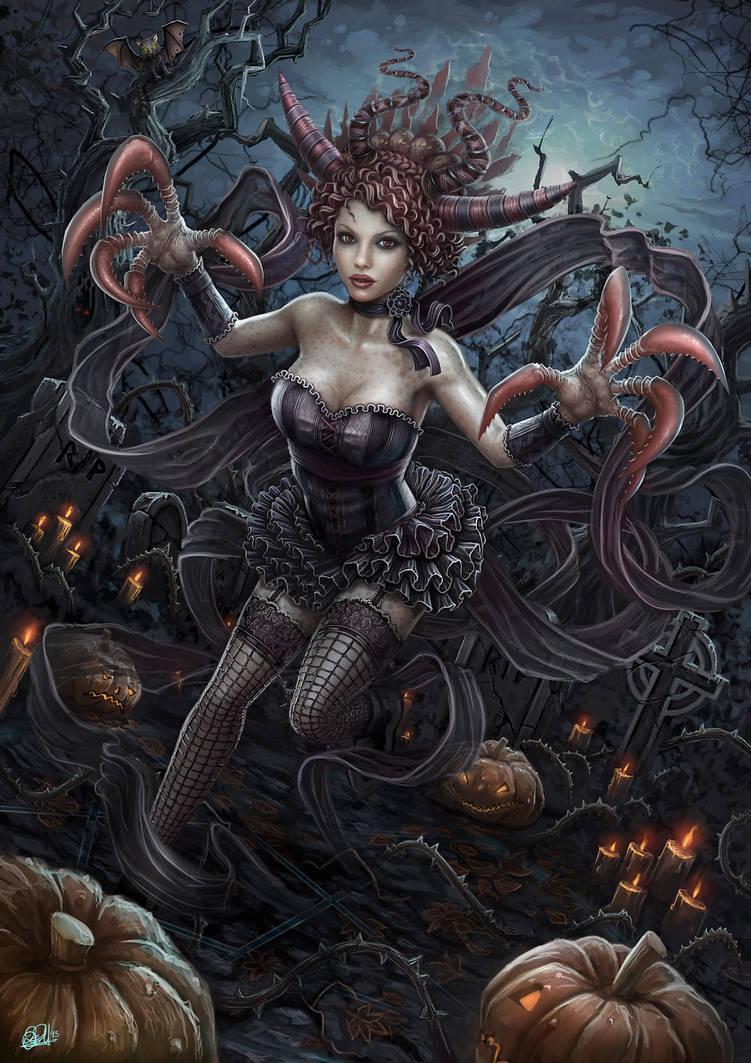 Hollow Queen by DarkAkelarre