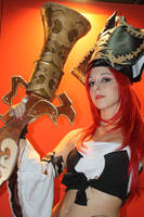 Miss Fortune cosplay by itsukih
