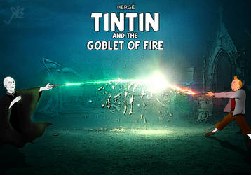 TINTIN and The Goblet of Fire by isuru077