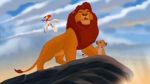 Zazu, Take Simba Home. The Remake is Coming! by isuru077
