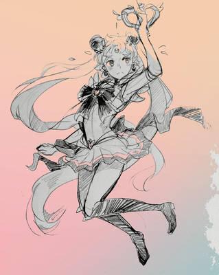 Super Sailor Moon by draa