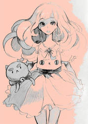 Bee and Puppycat by draa