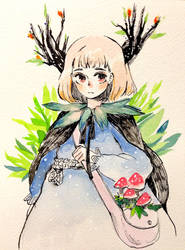 Mori Girl by draa