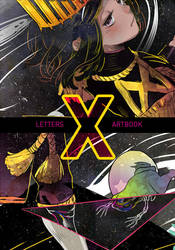 LETTERS Charity Artbook - X by draa