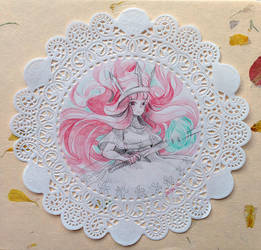 Doily - Child of Light by draa