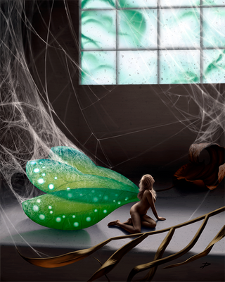 Trapped Faerie by dierat