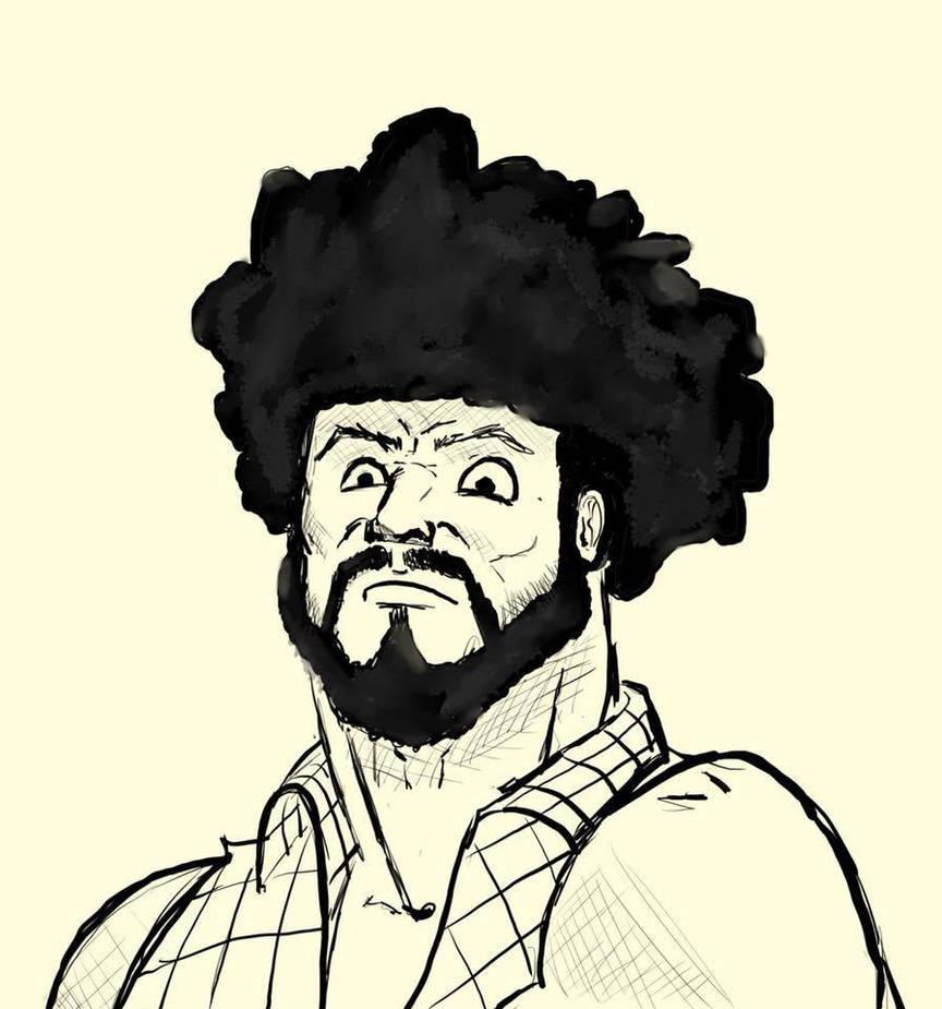 LumberJax quick sketch by salgecko
