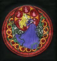 KH Stained Glass - Aurora by BastRulez