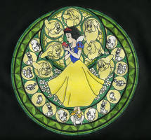 KH Stained Glass - Snow White by BastRulez