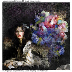 Flowers in Darnkness by Angeliques-Scraps