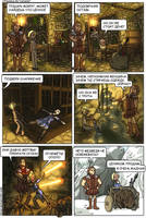 2-page Skyrim comics rus ver by Oessi