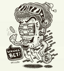 Slot Machine _ Gamble time by djyerba