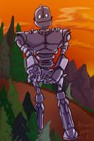 Iron Giant by AthenaNina