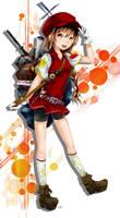 Otaku Girl by saiki2