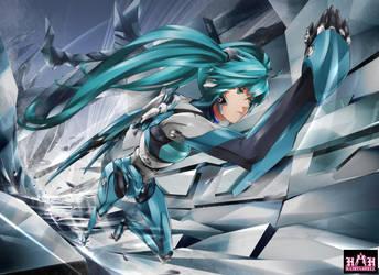 H.M. Vocaloid Unit-01 by saiki2