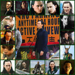 Loki Collage by Long-lost-sister