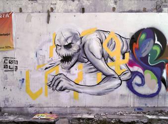 the human centipede by Comolo