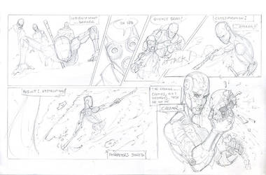 DeNAi page layout sample by gregscottbailey