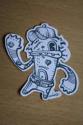 cat sticker 2 by rosakatze
