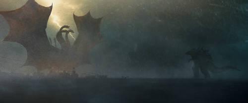 Godzilla: King Of The Monster 2019 by BazelEntertainment