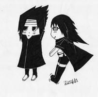 sasuke chibi by Hernysite