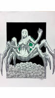 spider queen - comision by Hernysite