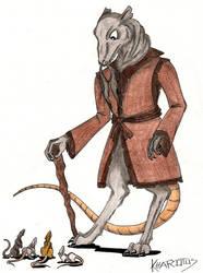 Teenage mutant ninja.... rats? by Kharotus