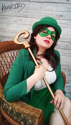 Riddler cosplay: I have riddle for you by Kharotus