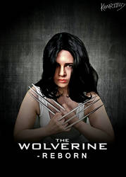 The wolverine cosplay poster by Kharotus